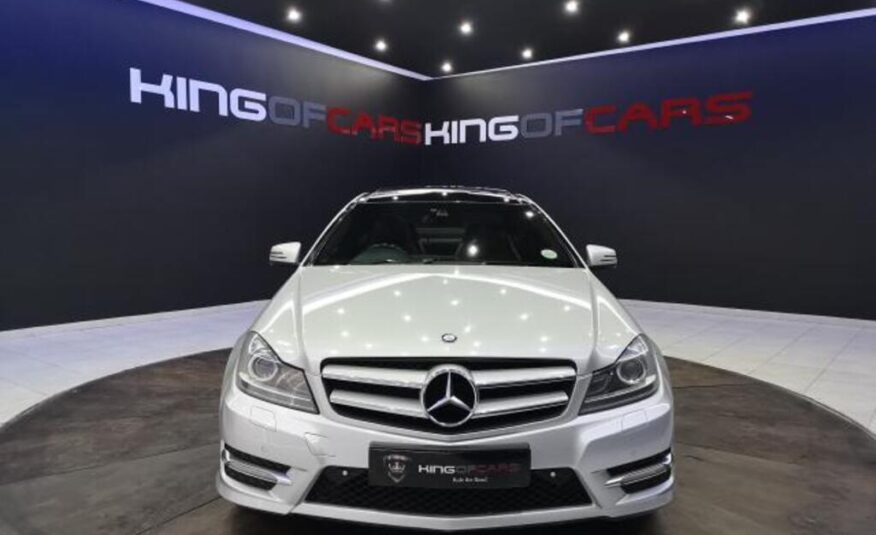 2012 Mercedes-Benz C350 Blue Efficiency coupe AMG Sports